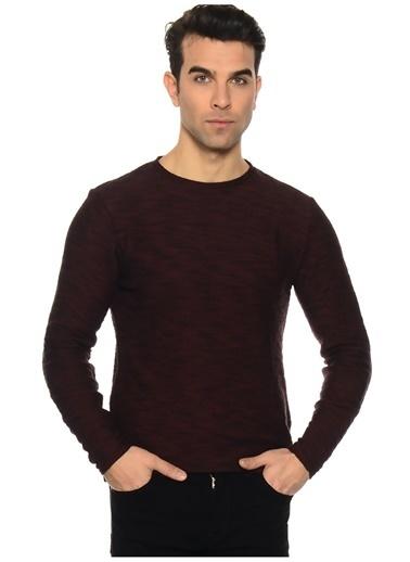 Blend Blend Koyu Kırmızı Sweatshirt Kırmızı